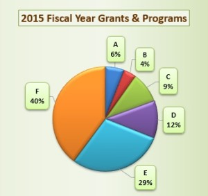 SVSL 2015 Fiscal Year Grants & Programs