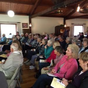 audience at a recent SVSL seminar
