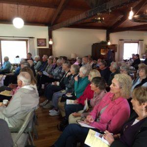 audience at a SVSL seminar