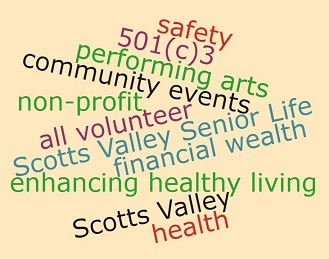 thank you for your donations which enhancing healthy living for Scotts Valley's senior residents