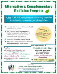 Alternative & Complementary Medicine Program flyer