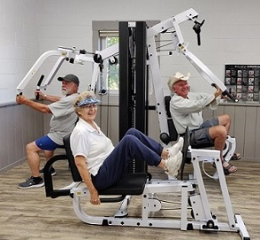 SVSLA provided grant for new exercise machine at Montevalle