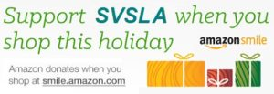 Shop at Amazon Smile & donate to SVSLA