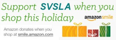 SVSLA receives a donation each time you shop at Amazon Smile