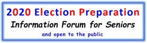 2020 Election Preparation Forum