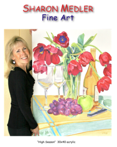 Sharon Medler, local award-winning fine artist