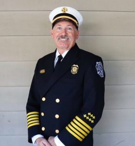 Fire Chief Ron Whittle